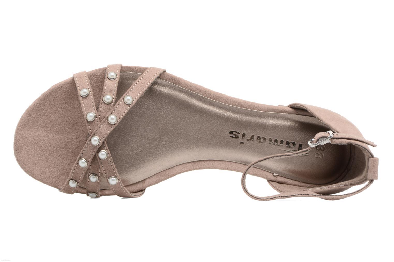 Sandales et nu-pieds Tamaris Imi Beige vue gauche