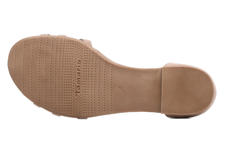 Sandales et nu-pieds Tamaris Imi Beige vue haut