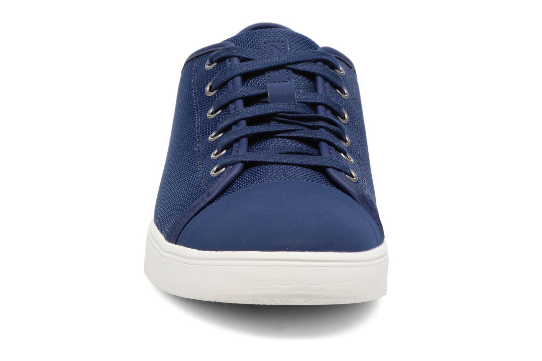 Baskets Clarks Lander Cap Bleu vue portées chaussures