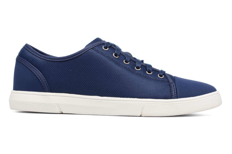 Sneakers Clarks Lander Cap Blauw achterkant
