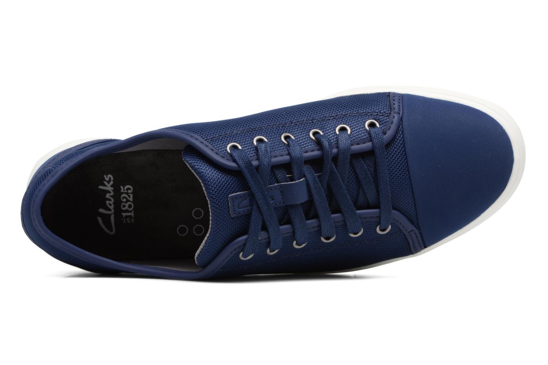 Sneakers Clarks Lander Cap Blauw links
