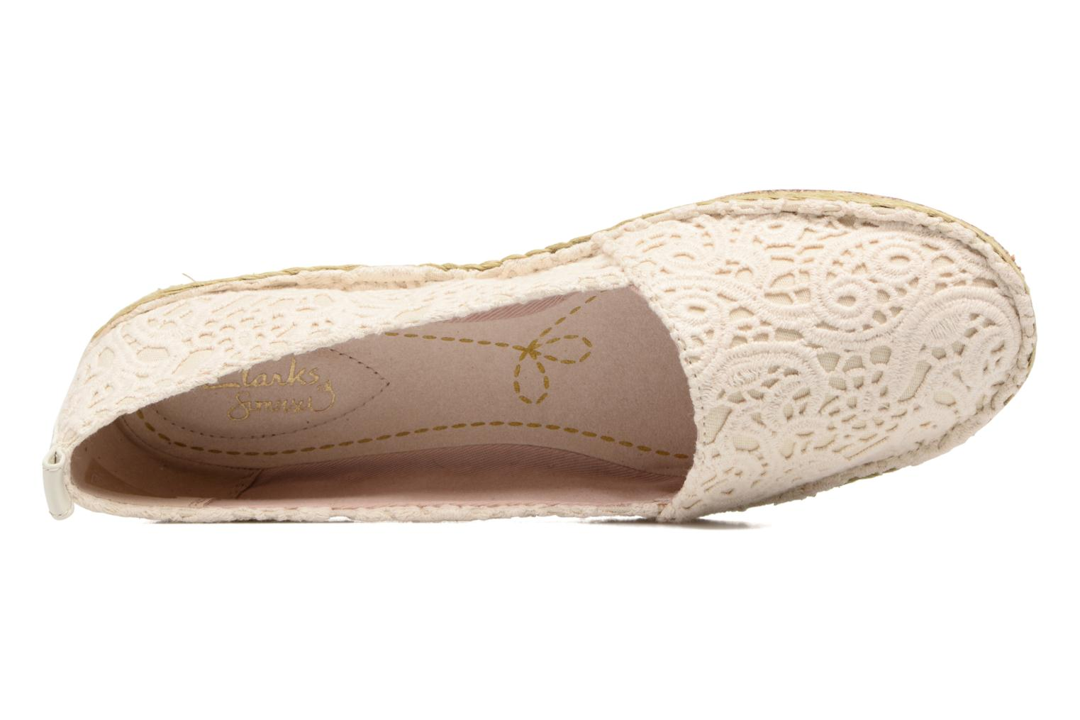 Espadrilles Clarks Clovelly Sun Beige view from the left