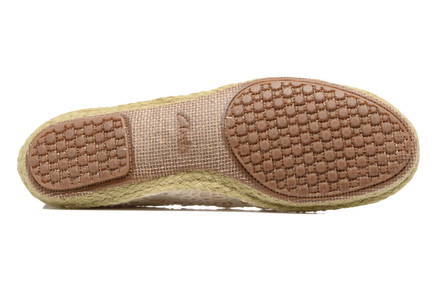 Espadrilles Clarks Clovelly Sun Beige view from above