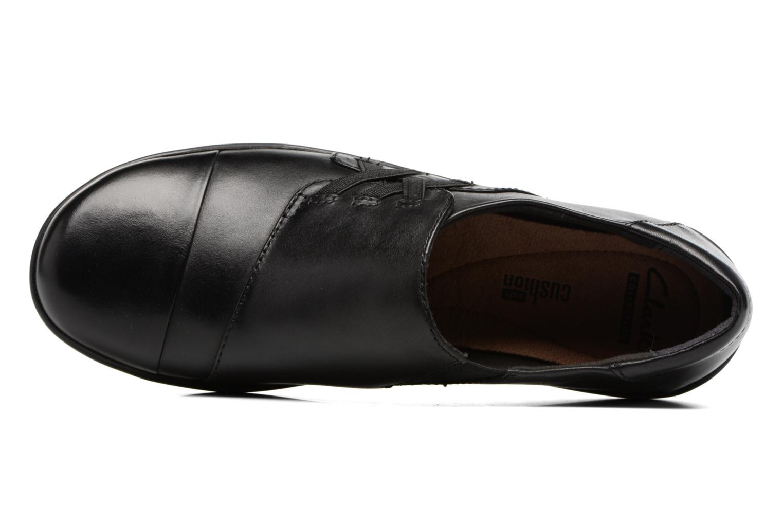 Medora Sandy Black leather