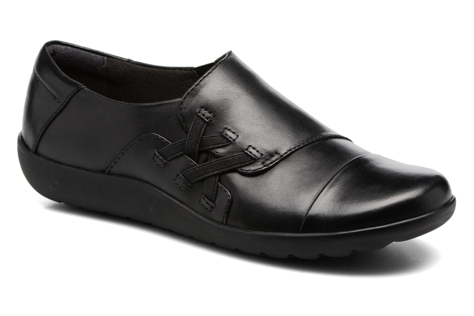 Medora Sandy Black leather