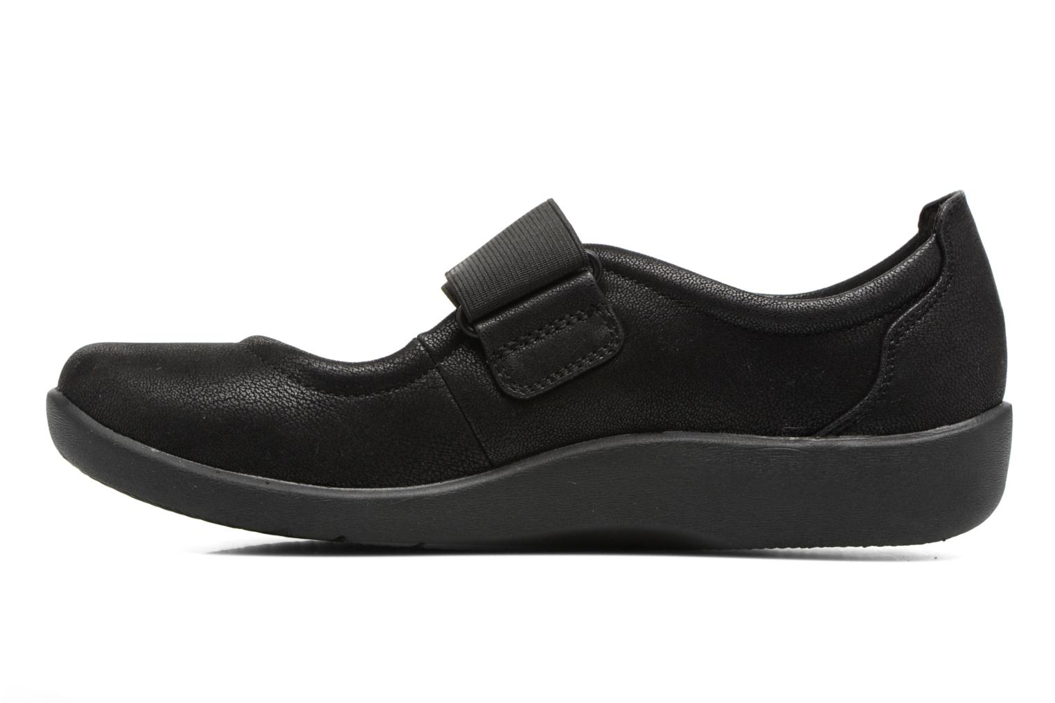 Ballet pumps Clarks Sillian Cala Black front view
