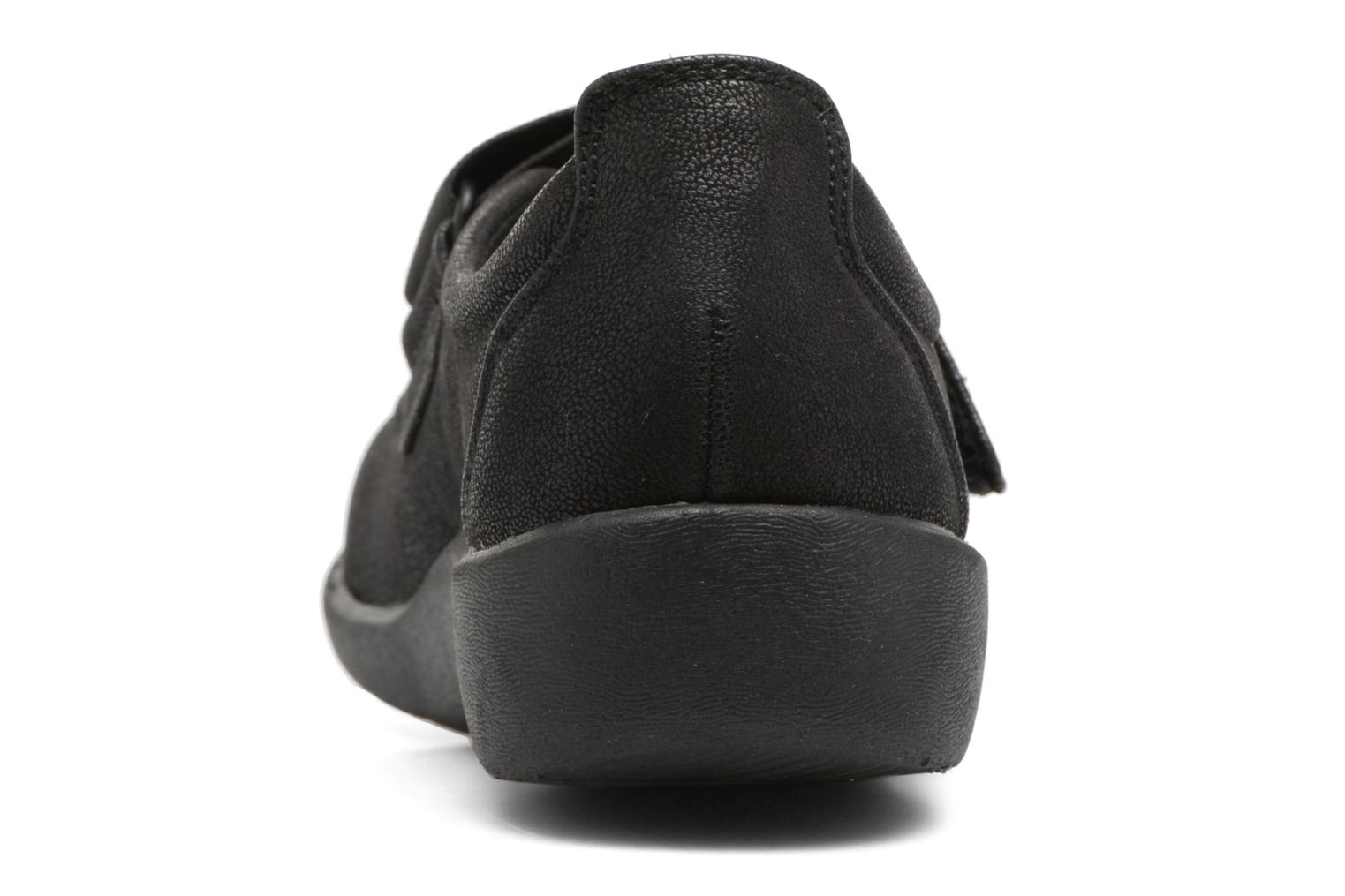 Ballet pumps Clarks Sillian Cala Black view from the right