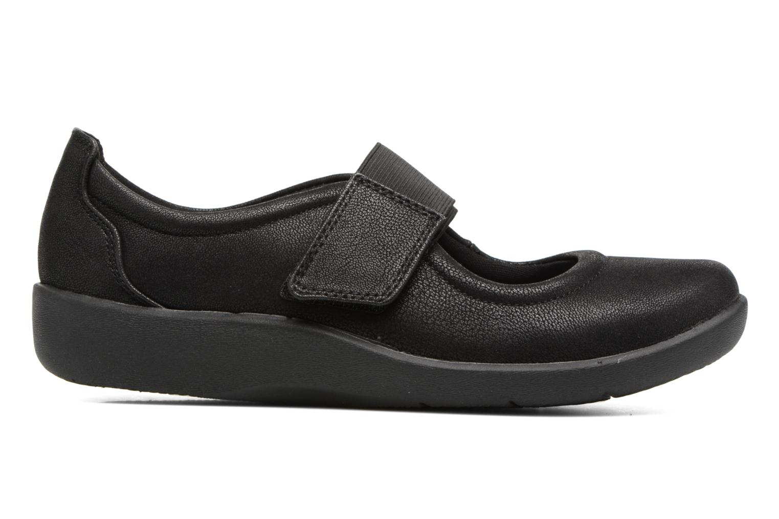 Ballet pumps Clarks Sillian Cala Black back view