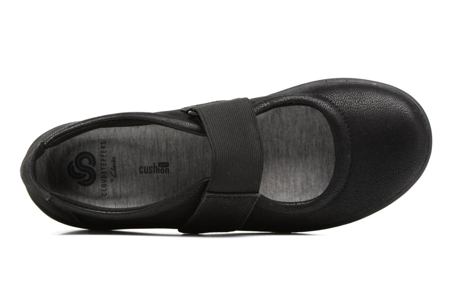 Ballet pumps Clarks Sillian Cala Black view from the left