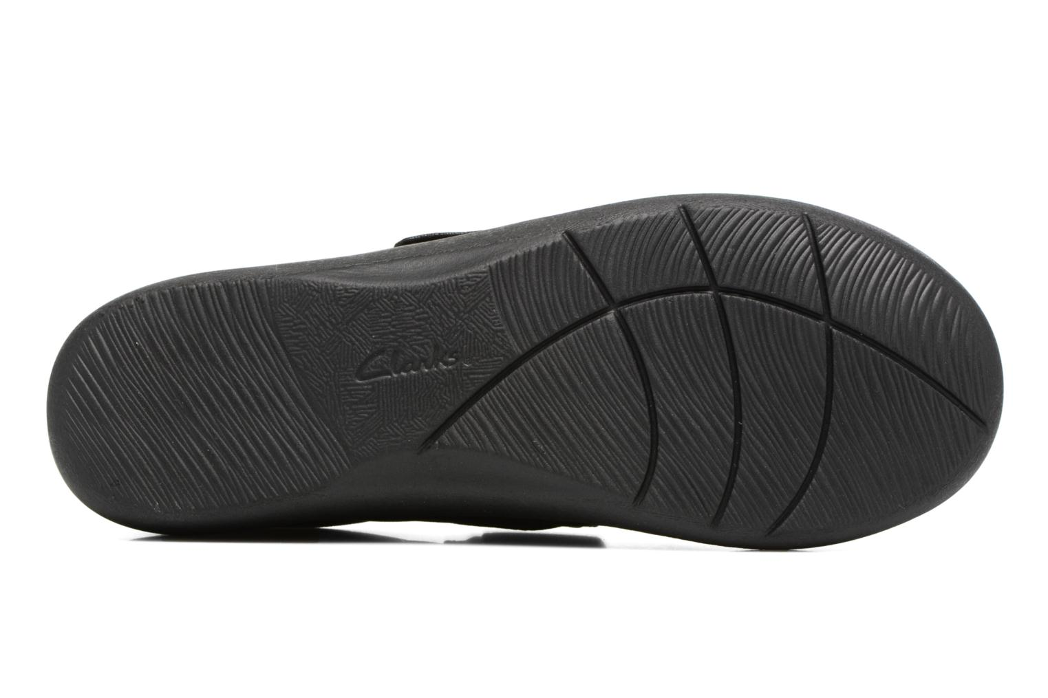 Ballet pumps Clarks Sillian Cala Black view from above
