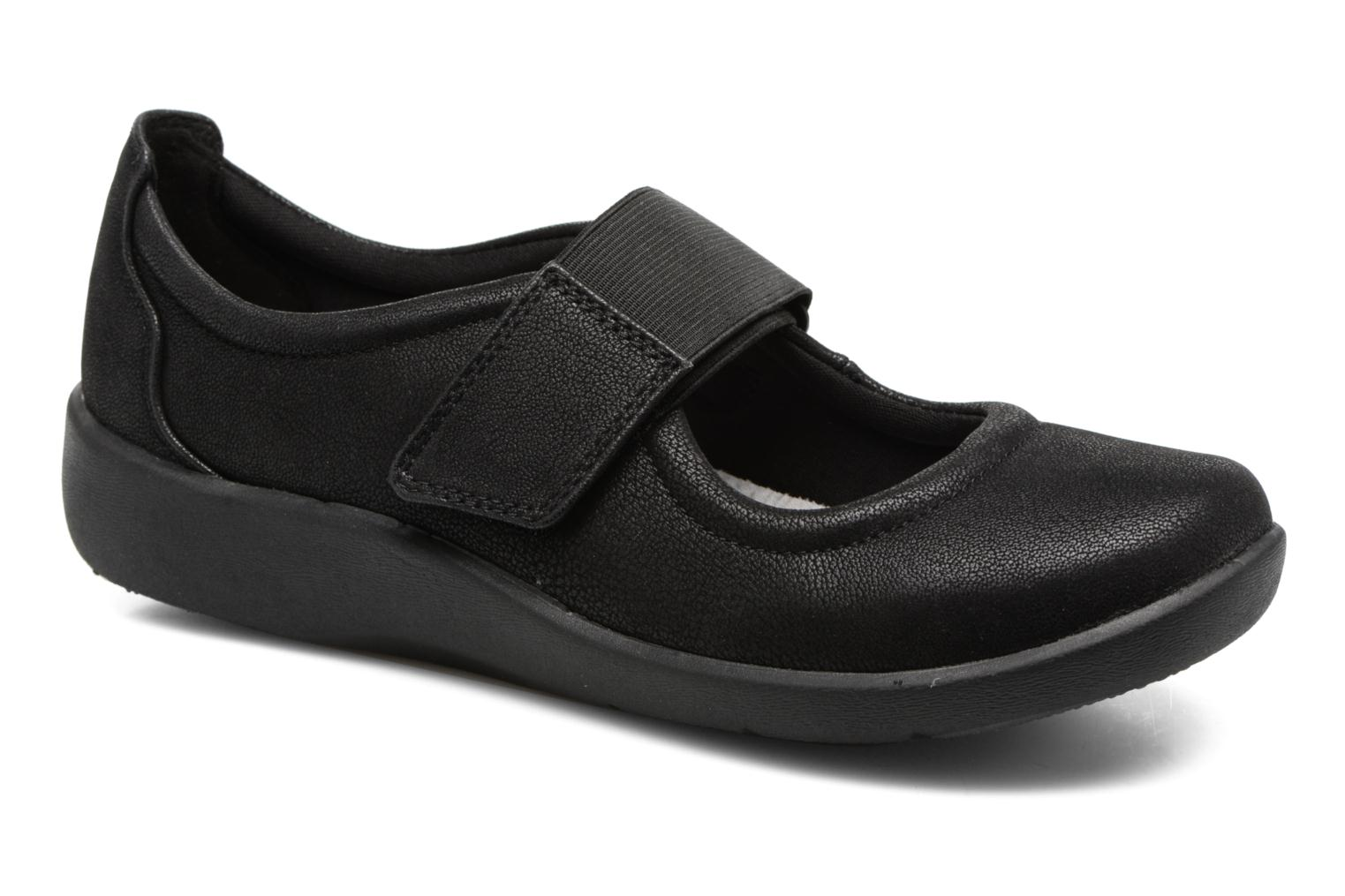 Ballet pumps Clarks Sillian Cala Black detailed view/ Pair view