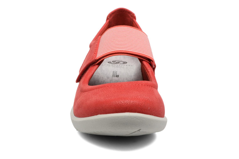 Ballet pumps Clarks Sillian Cala Red model view