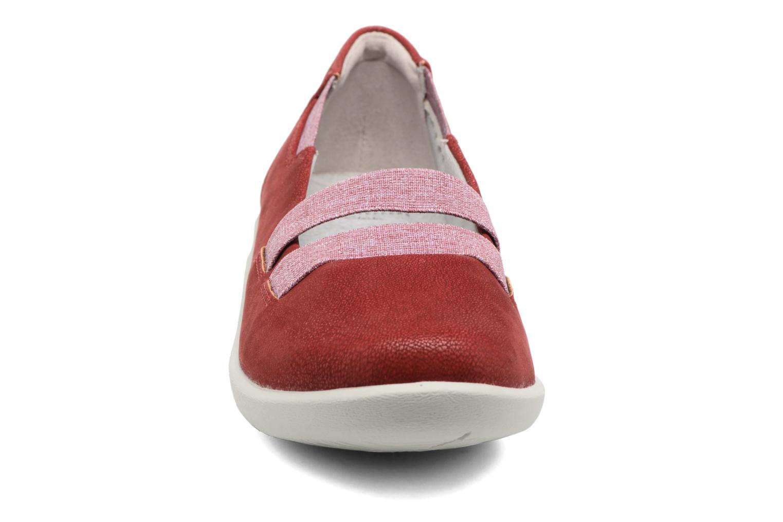 Ballet pumps Clarks Sillian Rest Red model view