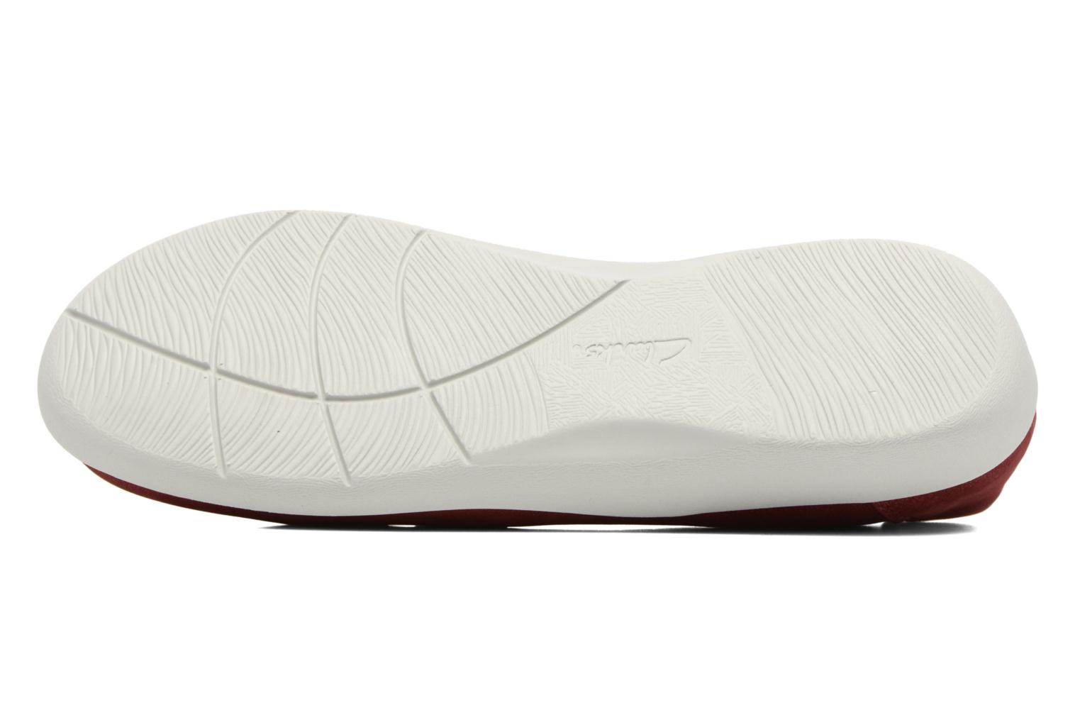 Ballet pumps Clarks Sillian Rest Red view from above