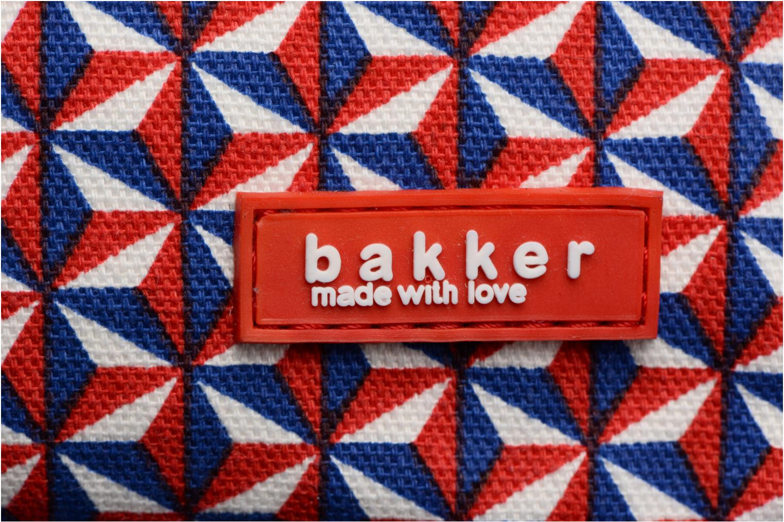 Scolaire Bakker Made With Love Bintang Backpack Grand Rouge vue gauche