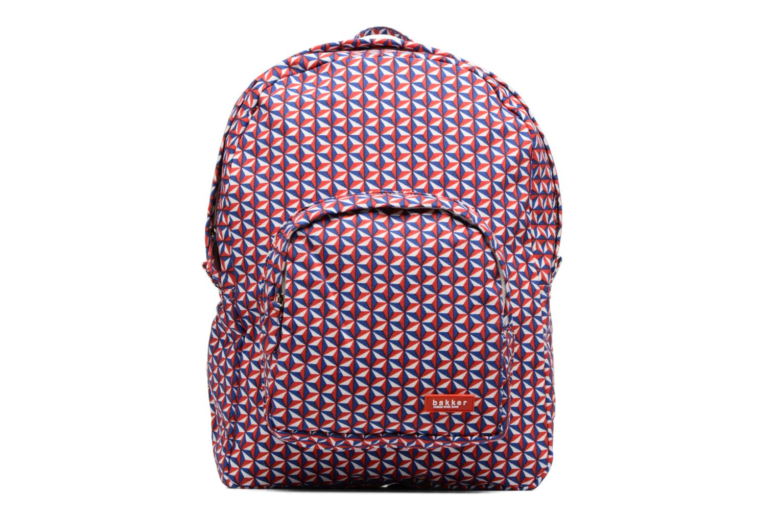 Scolaire Bakker Made With Love Bintang Backpack Grand Rouge vue détail/paire