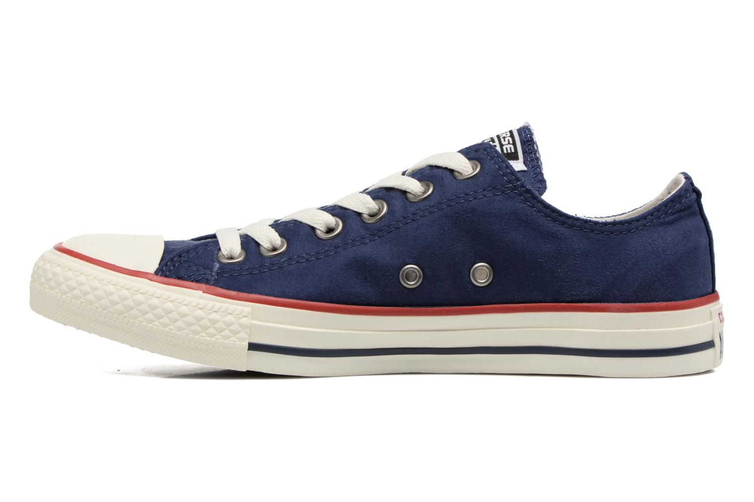 Baskets Converse Chuck Taylor All Star Ombre Wash Ox W Bleu vue face