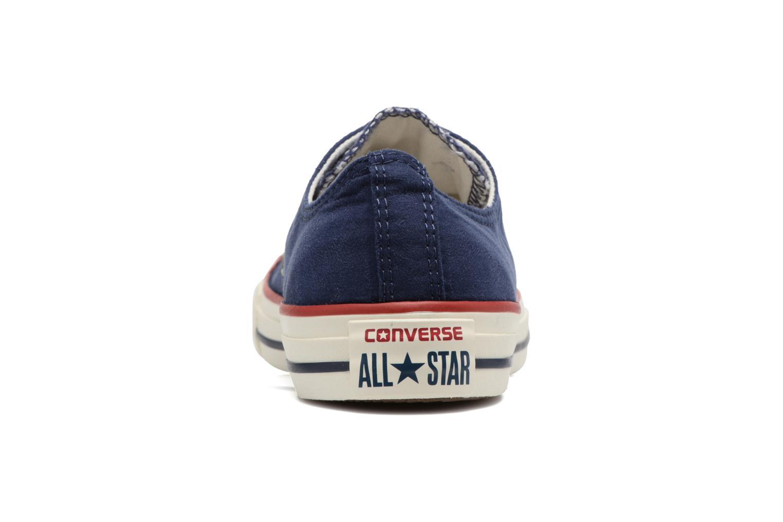 Chuck Taylor All Star Ombre Wash Ox W Midnight Navy/Garnet/Egret