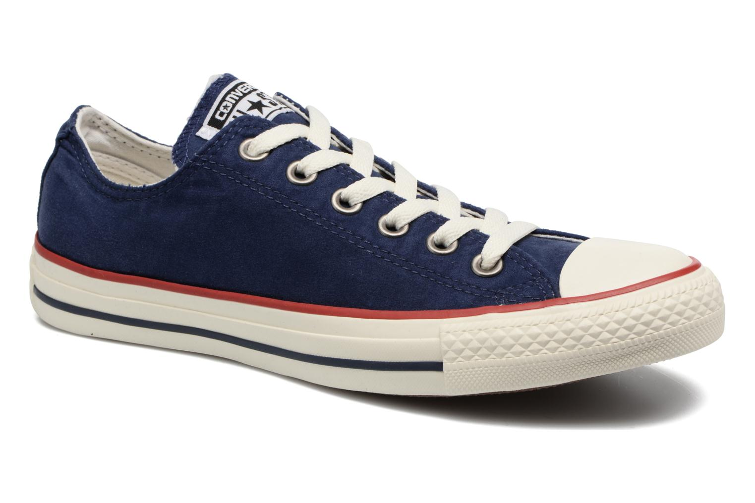 Baskets Converse Chuck Taylor All Star Ombre Wash Ox W Bleu vue détail/paire