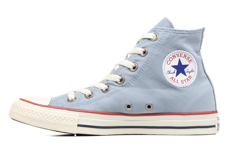 Baskets Converse Chuck Taylor All Star Ombre Wash Hi W Bleu vue face