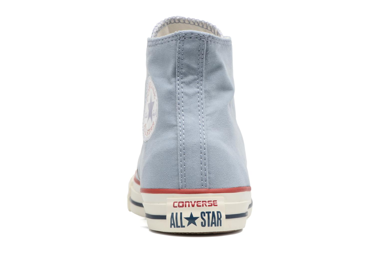 Baskets Converse Chuck Taylor All Star Ombre Wash Hi W Bleu vue droite