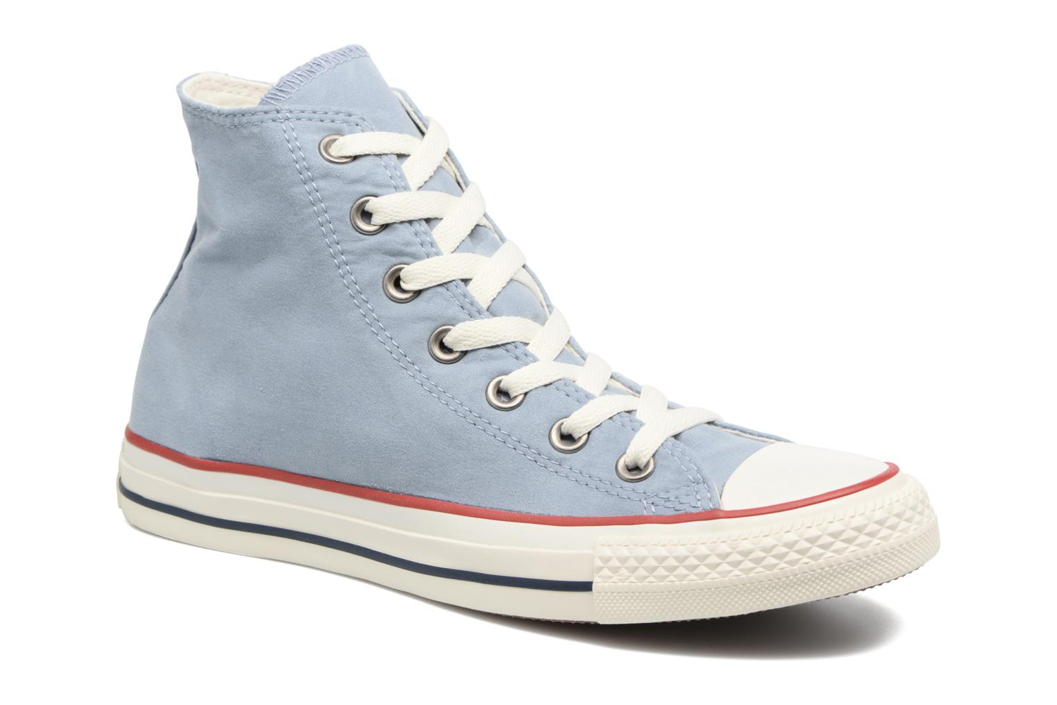 Trainers Converse Chuck Taylor All Star Ombre Wash Hi W Blue detailed view/  Pair view