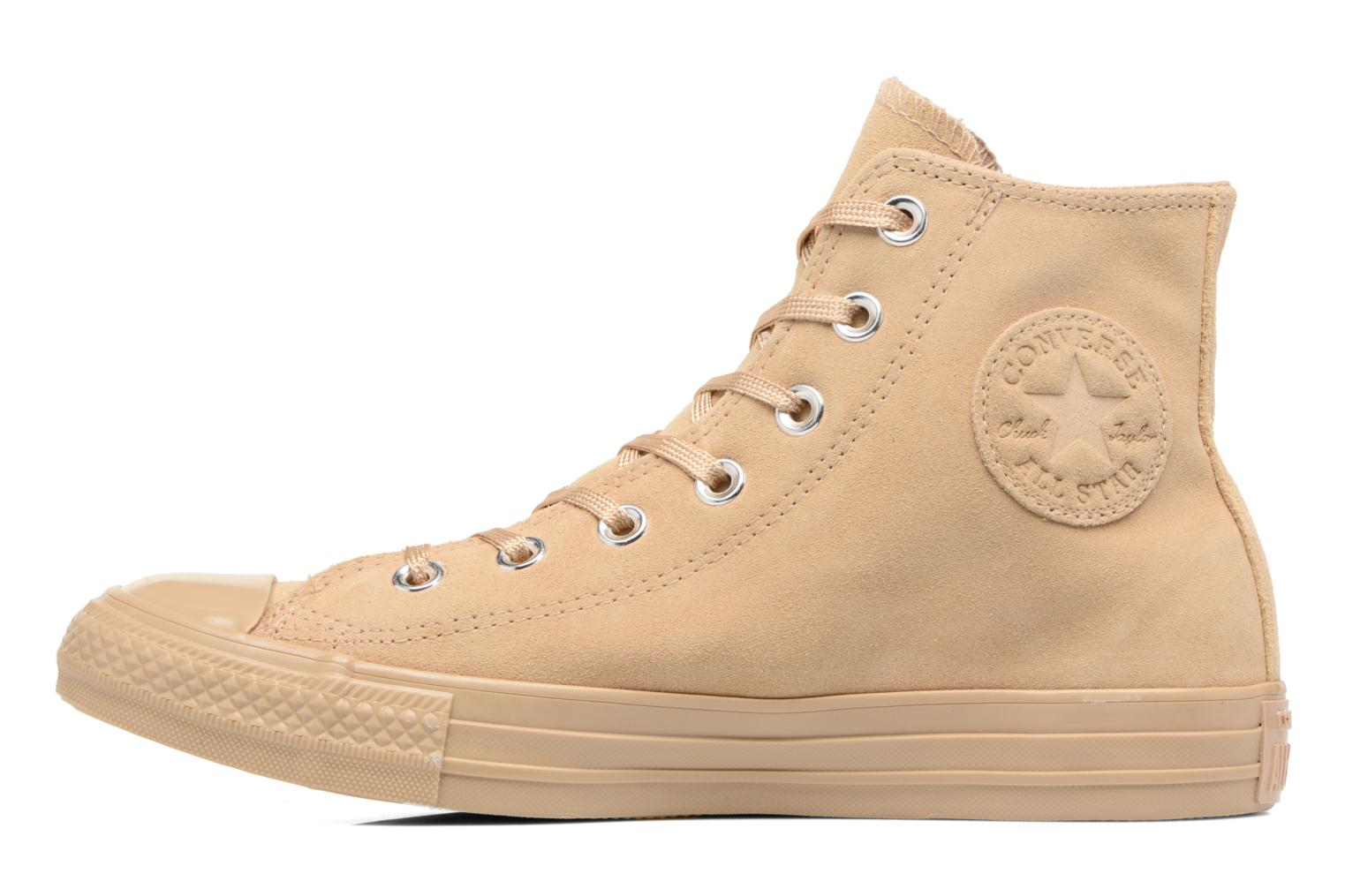 Chuck Taylor All Star Mono Plush Suede Hi Light Fawn/Light Fawn/Light Fawn