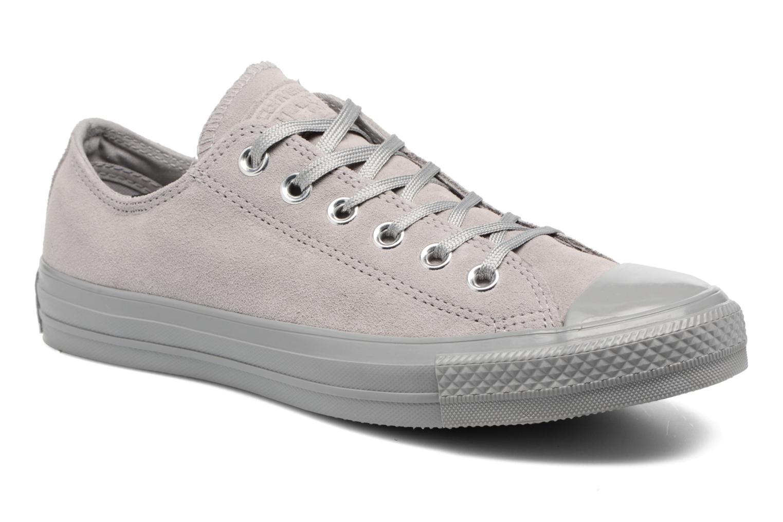 ZapatosConverse Chuck Taylor All Star Star Star Mono Plush Suede Ox (Gris) - Deportivas   Cómodo y bien parecido 93c4e6