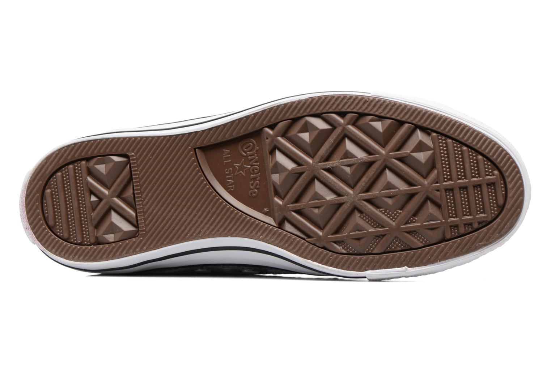 Sneakers Converse Chuck Taylor All Star Sequins Hi Argento immagine dall'alto