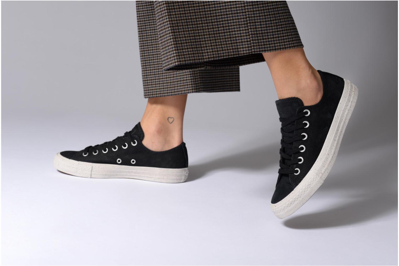 Zapatos promocionales Converse Chuck Taylor All Star Nubuck Ox W (Negro) - Deportivas   Zapatos casuales salvajes