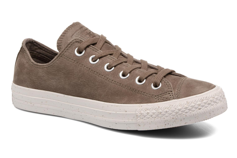 Grandes descuentos últimos zapatos Converse Chuck Taylor All Star Nubuck Ox W (Marrón) - Deportivas Descuento