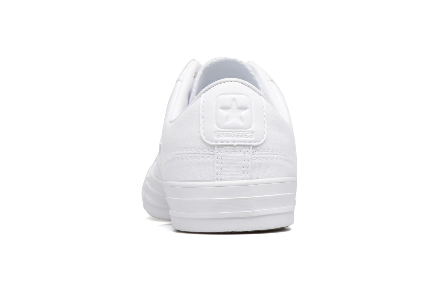 Trainers Converse Star Player Canvas with Gum Ox White view from the right