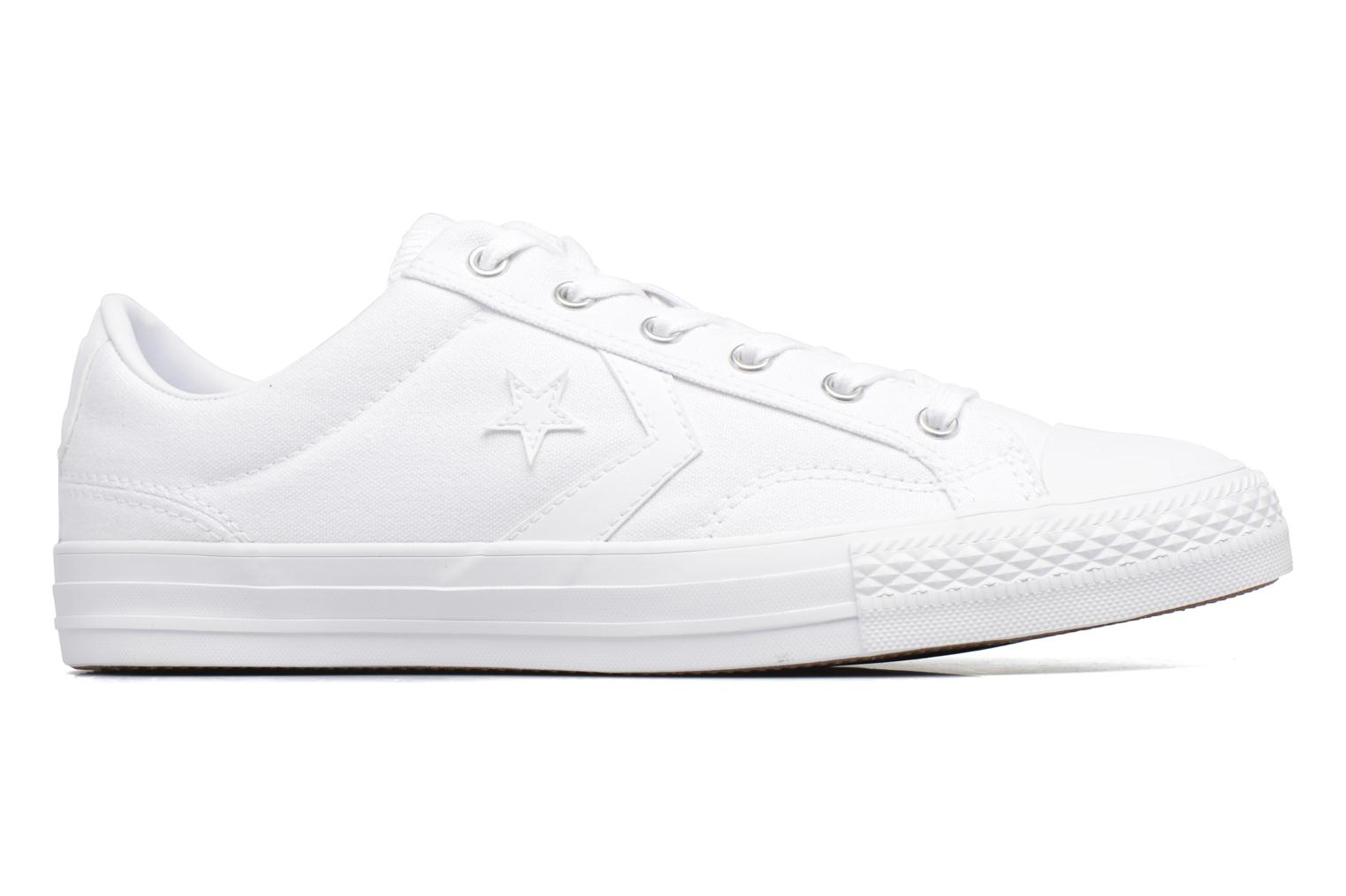Trainers Converse Star Player Canvas with Gum Ox White back view