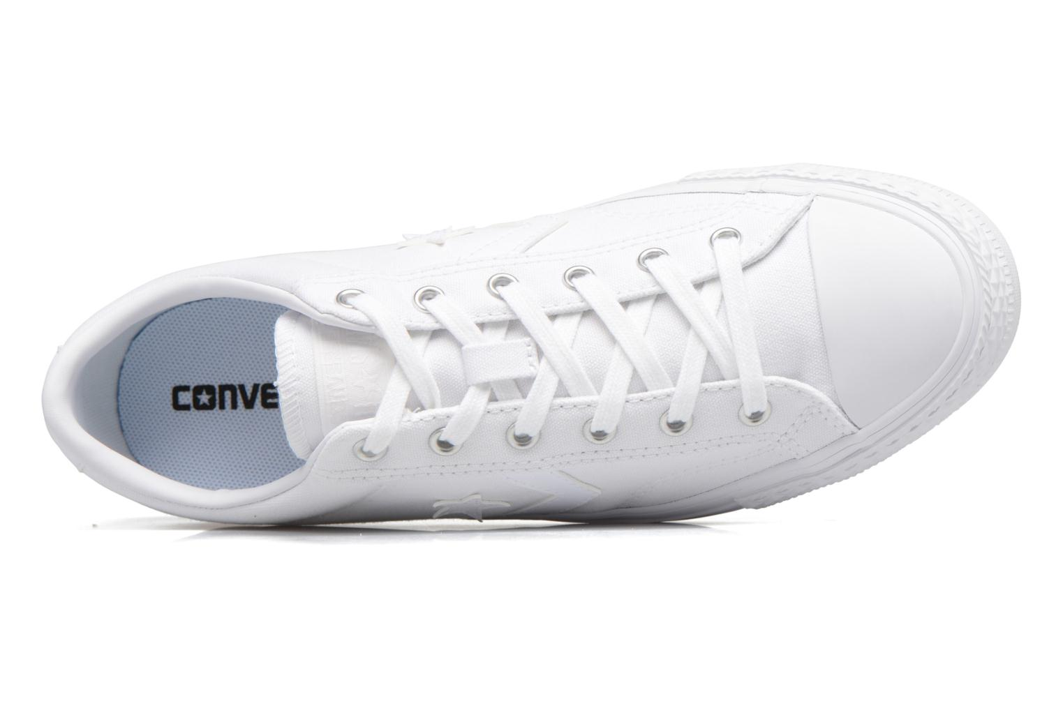 Trainers Converse Star Player Canvas with Gum Ox White view from the left