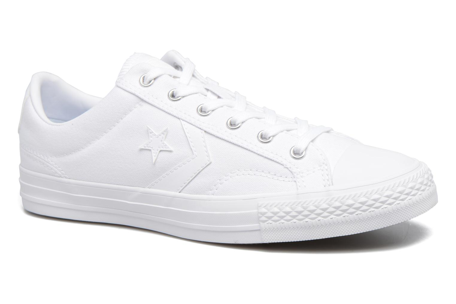 Trainers Converse Star Player Canvas with Gum Ox White detailed view/ Pair view