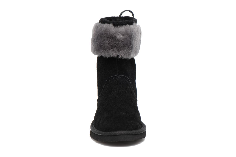 Bottes UGG Pollie Noir vue portées chaussures