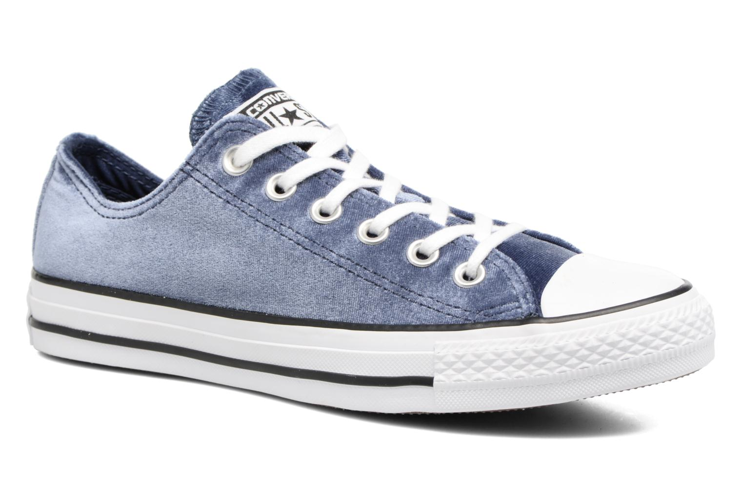 Marques Chaussure femme Converse femme Chuck Taylor All Star Velvet Ox Midnight Navy/White/White