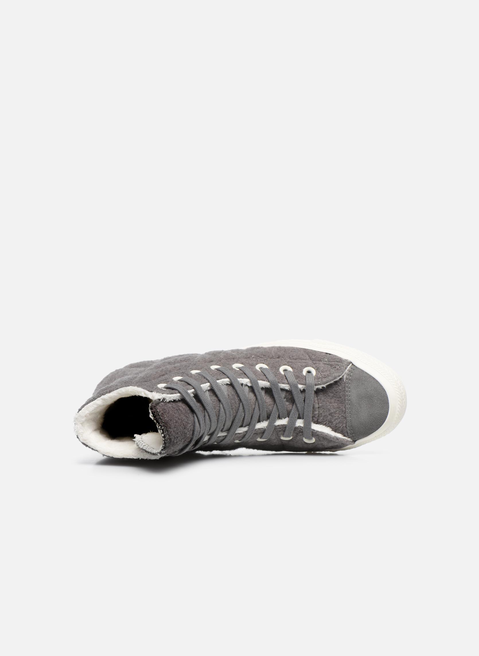 Sneakers Converse Chuck Taylor All Star Wool Hi Grijs links