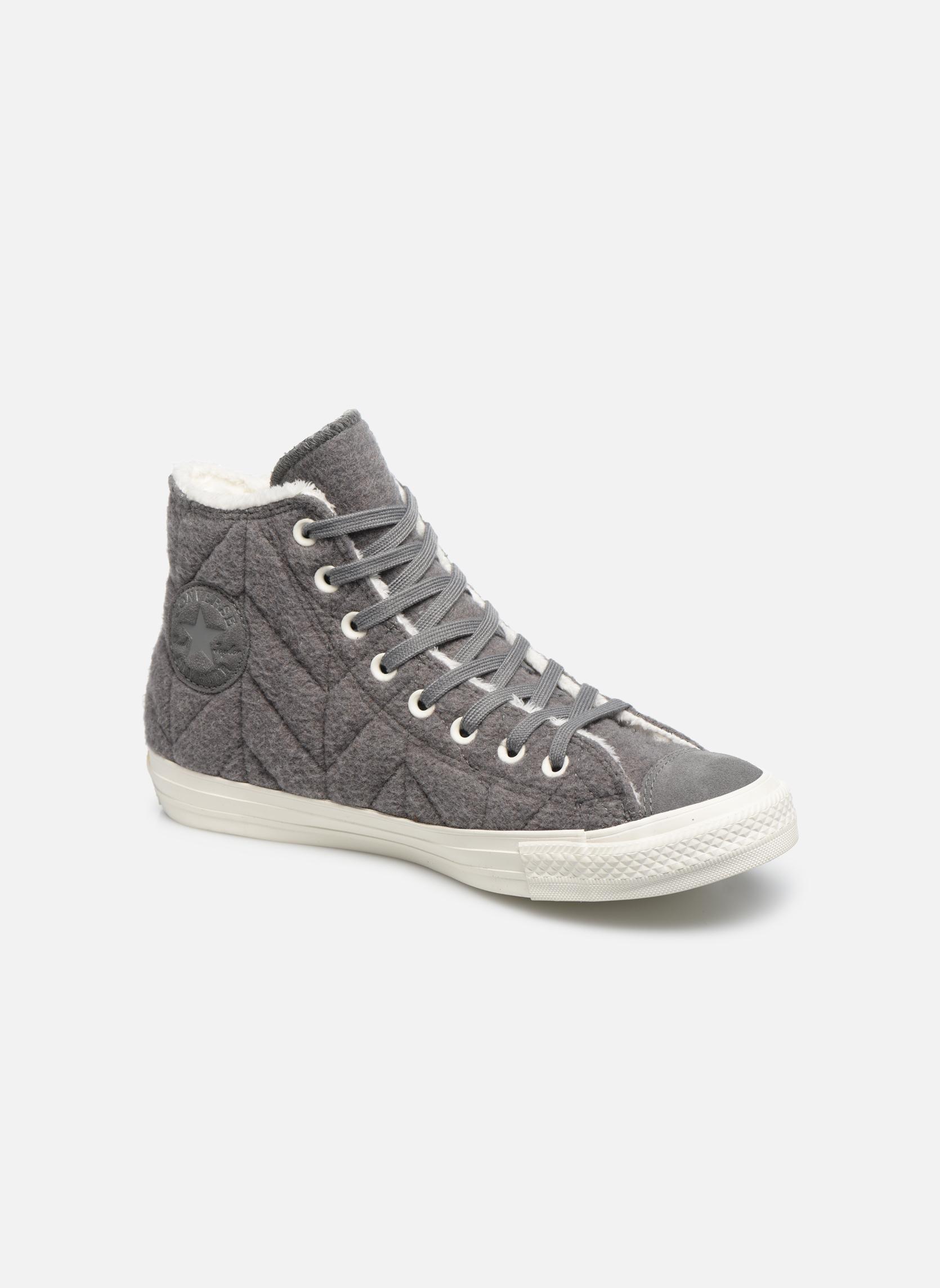 Chuck Taylor All Star Wool Hi Charcoal Grey/Charcoal Grey/Egret