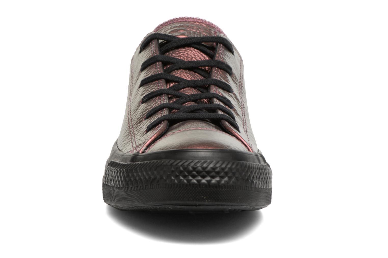 Chuck Taylor All Star Iridescent Leather Ox Molasses/Black/Black