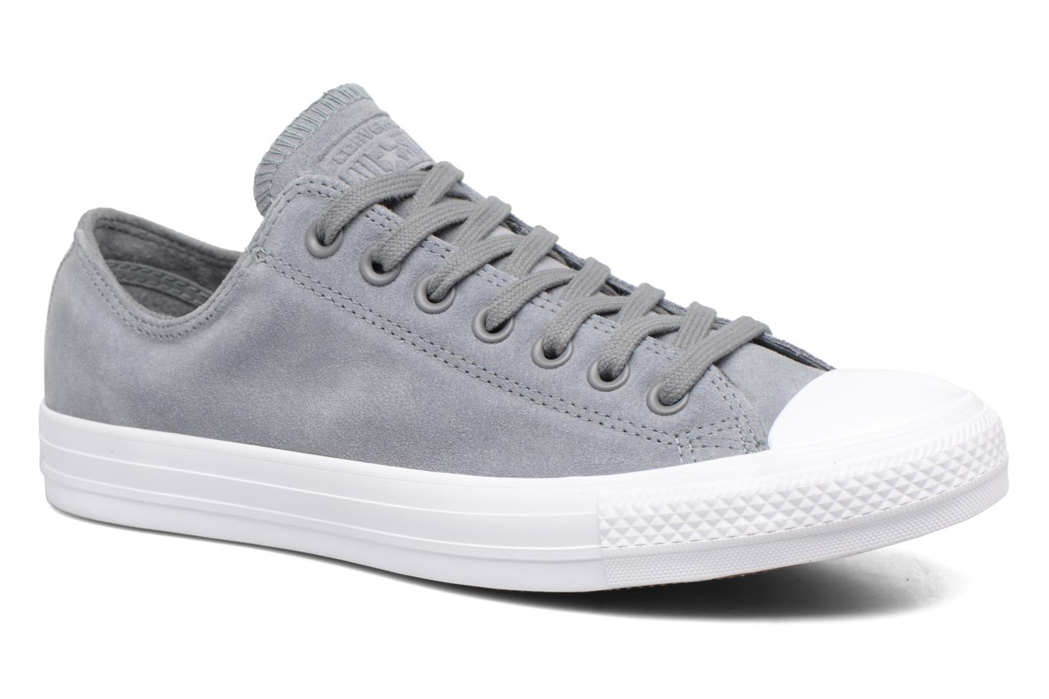 Chuck Taylor All Star Plush Suede Ox Cool Grey/Cool Grey/White