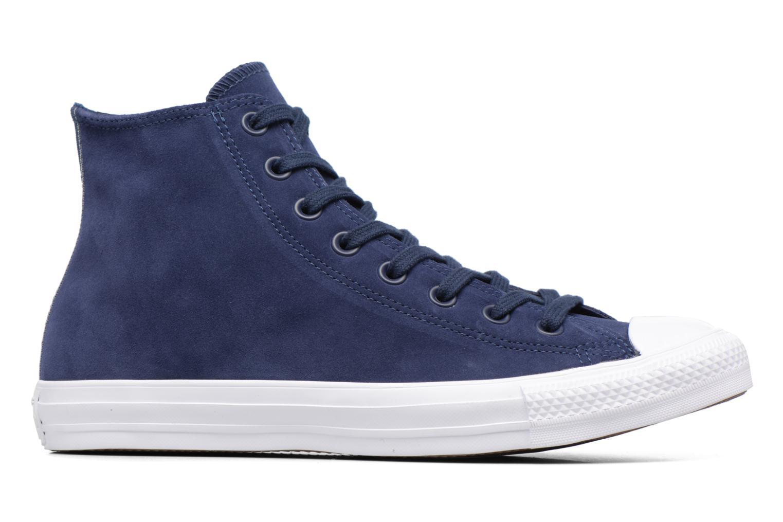 Sneaker Converse Chuck Taylor All Star Plush Suede Hi blau ansicht von hinten