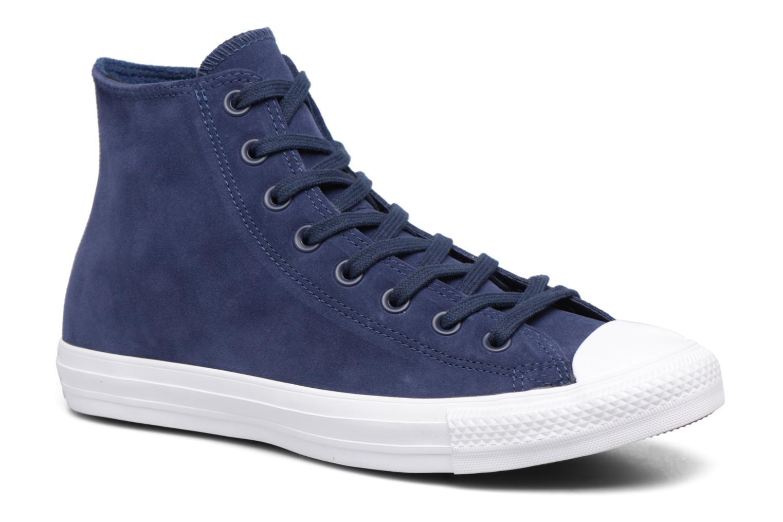 Sneaker Converse Chuck Taylor All Star Plush Suede Hi blau detaillierte ansicht/modell