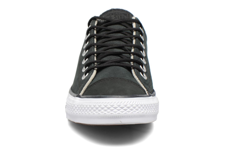 Baskets Converse Chuck Taylor All Star Diamond Emboss Ox Noir vue portées chaussures