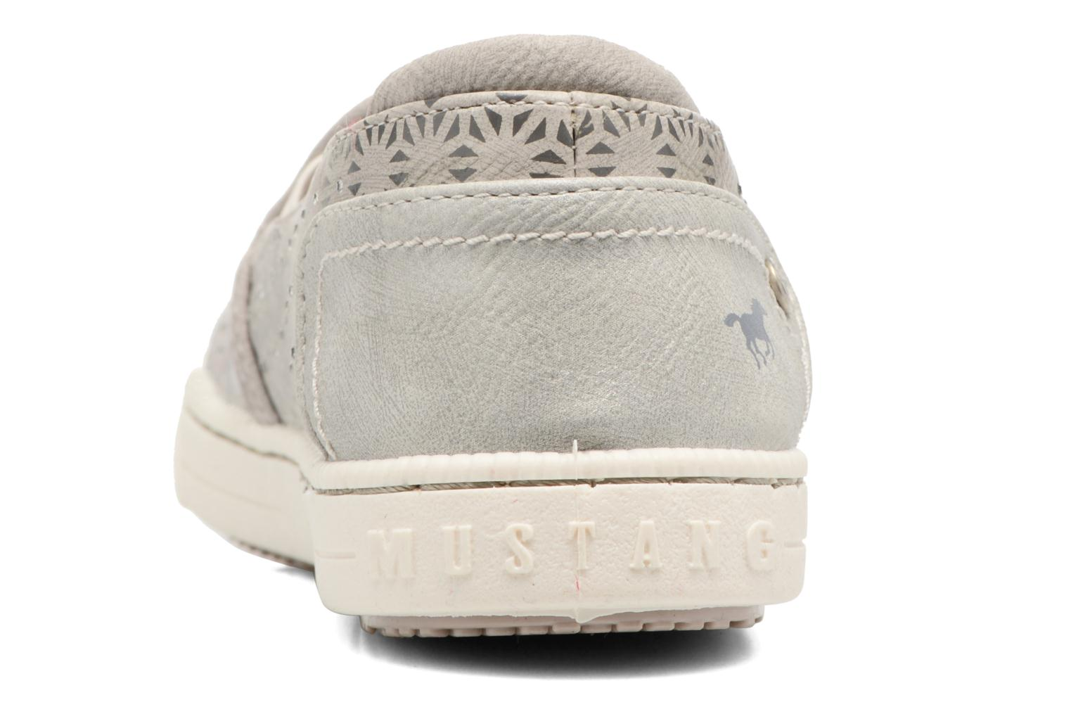 Baskets Mustang shoes Artysa Beige vue droite