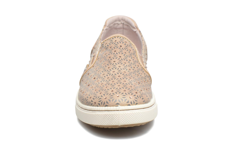 Baskets Mustang shoes Artysa Beige vue portées chaussures