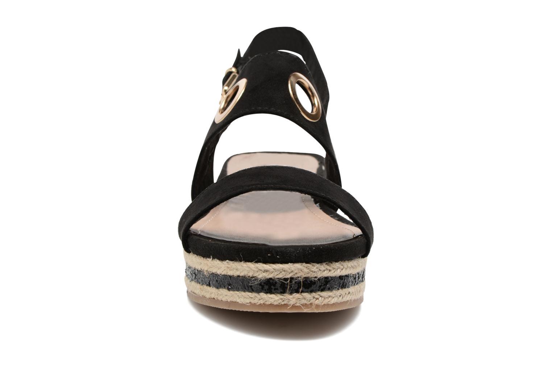 Sandales et nu-pieds S.Oliver Rocky Noir vue portées chaussures
