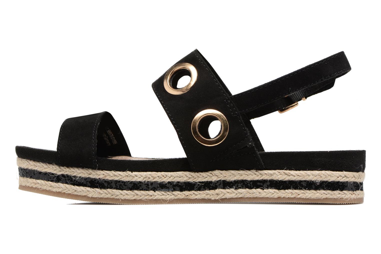 Sandales et nu-pieds S.Oliver Rocky Noir vue face