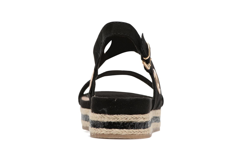 Sandales et nu-pieds S.Oliver Rocky Noir vue droite