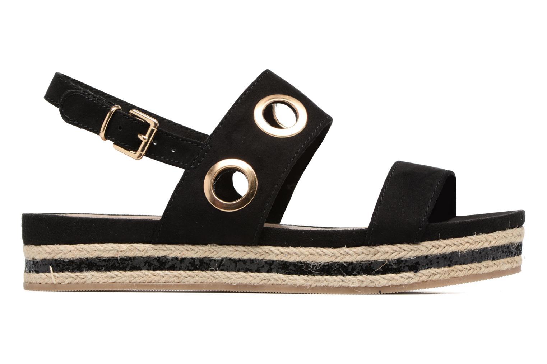 Sandales et nu-pieds S.Oliver Rocky Noir vue derrière